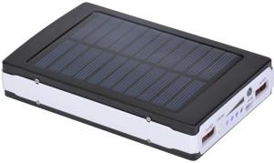 Xodas SL-12 Solar  With 20 Led Light Panel 10000 mAh Power Bank