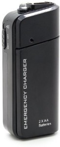 Singtronics 2 AA Alkaline Ni-MH to USB with Flash Light for Non Touch Screen NP1 200 mAh Power Bank