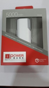Iball PB-5058 Portable  5000 mAh Power Bank