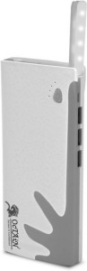 Octain T 6 Power Bank with Torch USB Triple Output Portable Power Supply 18000 mAh Power Bank