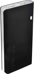 Lappymaster 15600 mAh Power Bank (Co32PB-044-Black White 15600mAhZX32, New style high capacity Double Output)