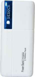 Debock Power Bank-001 Fast  With LED Torch 12000 mAh Power Bank