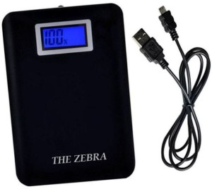 THE ZEBRA FST-001-XY-059 POWER INDICATOR with TORCH DUAL USB 2.1Amp & 1.0Amp 13000 mAh Power Bank
