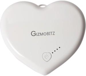 Gizmobitz PBHS5200WH Universal Power Pack 5200 mAh Power Bank