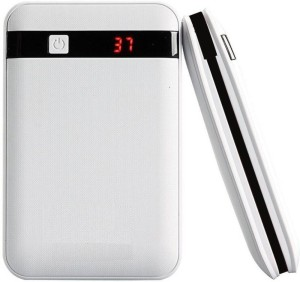 THE ZEBRA EST-002-XY-126 BEST EVER USB ATTACHED LED DISPLAY DUAL PORT WITH CAPACITY 2.1Amp & 1Amp 13000 mAh Power Bank