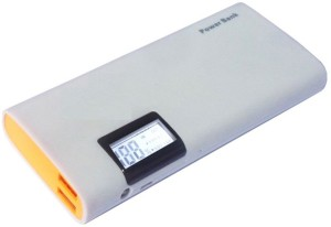 ZIN-WEB FST-002-XY-239 STANDARDISED POWER INDICATOR LED DISPLAY DUAL PORT PORT WITH CAPACITY 2.1Amp & 1Amp WITH TORCH 10400 mAh Power Bank