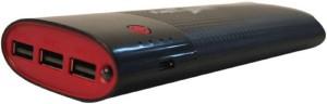 MCSMI Z BLACK 3 USB PORT POWERSUPPLY 12000 mAh Power Bank