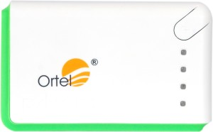 Ortel ORPB-13K2USBLED Premium Battery Pack With 2 Usb And Torch 13000 mAh Power Bank