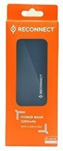 Reconnect PT5200-RF Reconnect  5200 mAh Power Bank