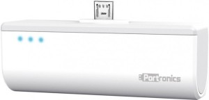Portronics Pico II_White 2200 mAh Power Bank