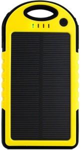 Big Square BSPowerSolar Universal Solar Charger Waterproof Dust+Shockproof 5200 mAh Power Bank