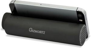 Gizmobitz PBSPMS3000BK PBSPMS3000BK 3000 mAh Power Bank