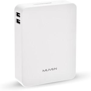Muven M-E380_W Portable Charger 8800 mAh Power Bank