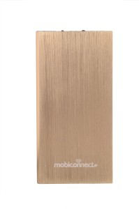 Mobiconnect MPB-8001  Portable Charger - Golden 8000 mAh Power Bank