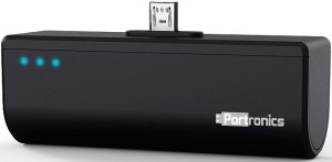 Portronics Pico II_Black 2200 mAh Power Bank