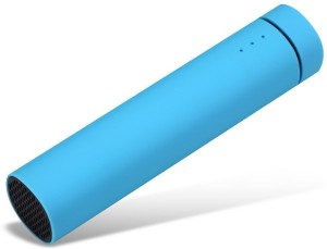 Voltegic ™ 3 in 1 Powerjam Blue ® Portable Speaker with External Battery Charger & Mobile Stand 4000 mAh Power Bank