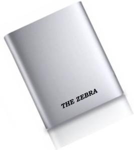 THE ZEBRA EST-001-XY-046 POWERBANK 2.1Amp USB PORTABLE 10400 mAh Power Bank