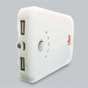 Ravin PB-112 USB Portable Power Supply with 2 USB Ports Enabling Dual Charging Facility 11200 mAh Power Bank