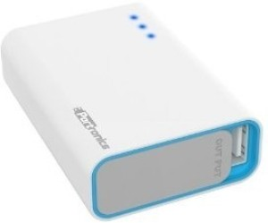 Portronics Charge one POR 311 Smallest 5200 mah Power Bank 5200 mAh Power Bank