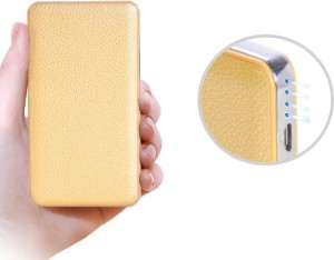 I Kall IK-55 I KALL Leather Body 12000 mAh Powerbank 12000 mAh Power Bank