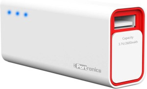 Portronics POR 357 Emergency Mobile Charger 2600 mAh Power Bank