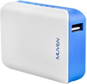 Muven E200i_Blue Portable Charger 5200 mAh Power Bank