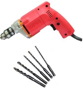 Foster FPD-010A with 5 High Quality Bits Do It Yourself DIY Pistol Grip Drill