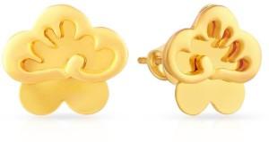 Malabar Gold and Diamonds Yellow Gold 22kt Stud Earring