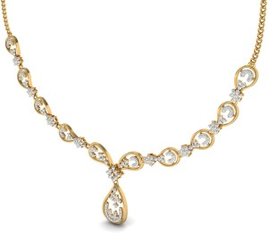 WearYourShine by PC Jewellers Gold Necklace
