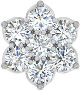 TBZ TheOriginal Daily wear 18kt Diamond White Gold Stud