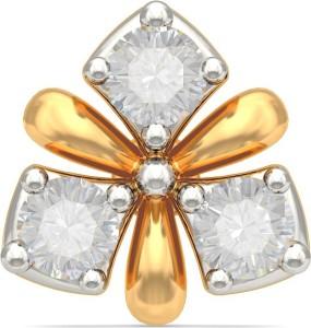 Bluestone Fuchsia 18kt Diamond Yellow Gold Stud Best Price In