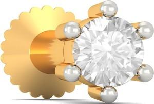 BlueStone Ixia 18kt Diamond Yellow Gold Stud