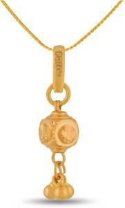 P.N.Gadgil Jewellers Designer 22kt Yellow Gold Pendant
