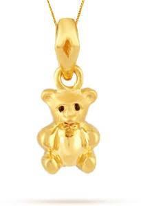 TBZ TheOriginal Teddy 22kt Yellow Gold Pendant