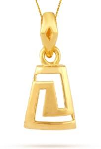 TBZ TheOriginal Office Wear 22kt Yellow Gold Pendant
