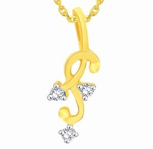 Asmi designer 18kt diamond yellow gold pendant yellow gold plated asmi designer 18kt diamond yellow gold pendant aloadofball Choice Image