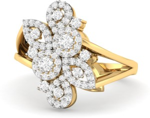 6b95e977062e7 WearYourShine by PC Jewellers PC Jeweller The Moyna 18kt Diamond Yellow  Gold ring