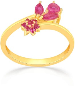 db584bd20ea20 Malabar Gold and Diamonds HBDAAAABZVXT 22kt Ruby Yellow Gold ring