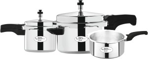 Leo Natura Eco + 2 L, 3 L, 5 L Pressure Cooker