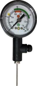 Spartan Pressure Gauge Ball Pump