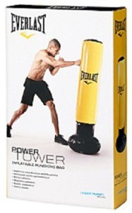 Everlast Tower Inflatable Punching Bag Standing Baglight 157 Kg