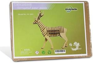 playwin corrugated paper 3d jigsaw puzzle the best parent child