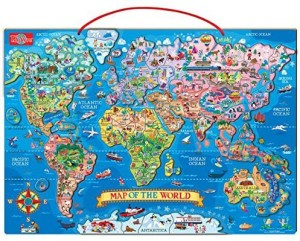 T s shure wooden magnetic world map puzzle 1 pieces best price in ts shure wooden magnetic world map puzzle gumiabroncs