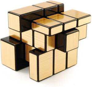Emob 3x3 Gold Mirror Cube Puzzle