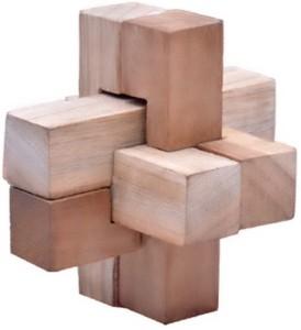 Jigyasa Burr Cross Puzzle6 Pieces
