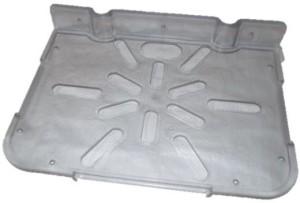Royal Indian Craft ABS Set Top Box Stand Acrylic Wall Shelf