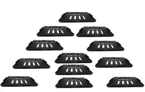 Royal Indian Craft Hard Plastic (Pack of 12) Set Top Box / Speaker Plastic Wall Shelf