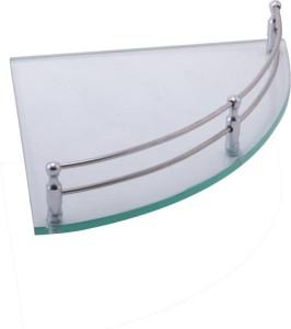 Metro Glass, Stainless Steel Wall Shelf