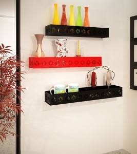 Home Sparkle MDF Wall Shelf