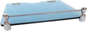Royal Indian Craft Royal Blue Multipurpose Set Top Box/Speaker Stand Glass Wall Shelf